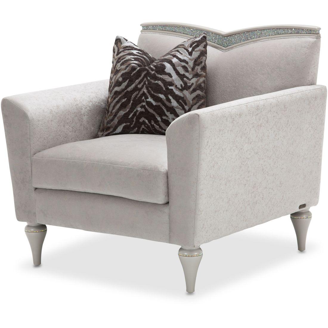 AICO Michael Amini Melrose Plaza V Back Sofa Living Room Set