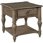 Kincaid Furniture Weatherford End Table in Heather
