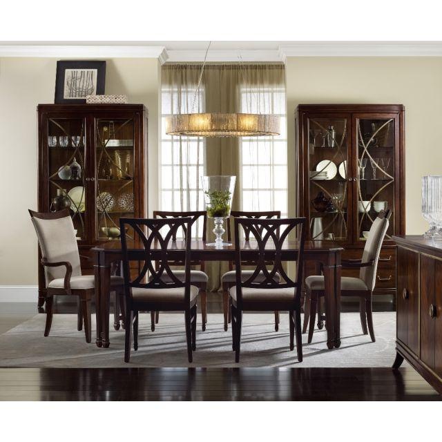 Hooker Furniture Palisade Rectangular Dining Set