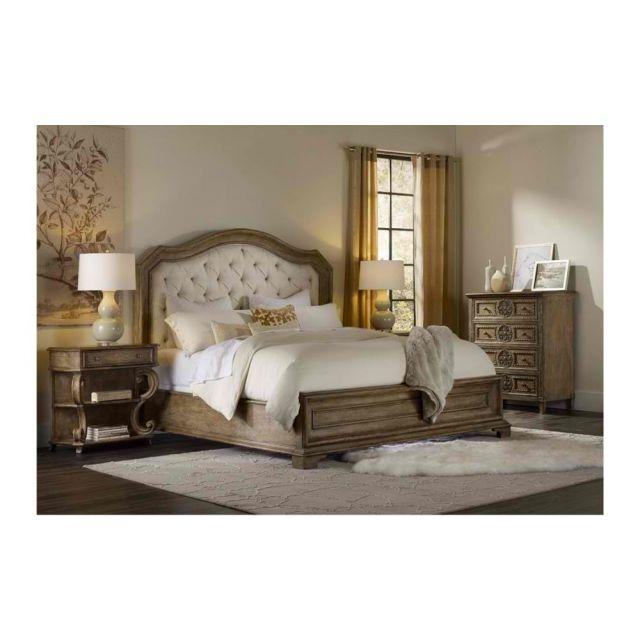 Hooker Furniture Solana Upholstered Panel Bedroom Set - King