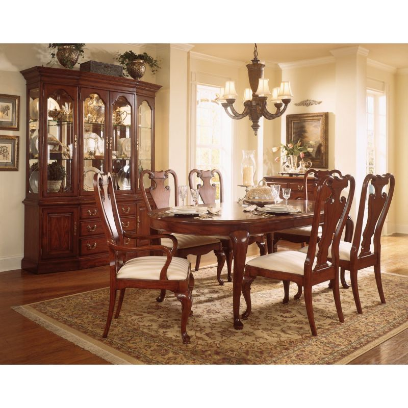 American Drew Cherry Grove Oval Dining, American Drew Dining Room Furniture