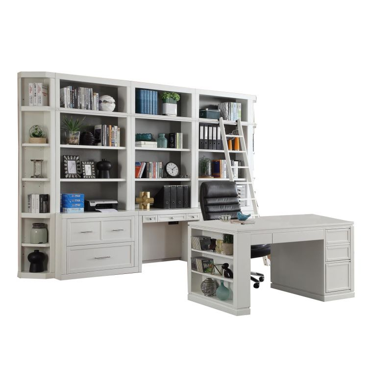 Parker House Catalina 9pc Library Wall, Parker House Office Furniture