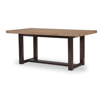 Legacy Classic Duo Trestle Dining Table - Two-tone