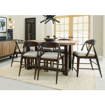Legacy Classic Duo Counter Height Dining Set - Black Bean