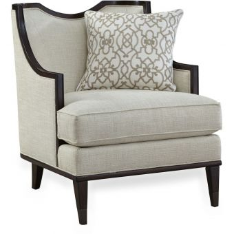 A.R.T. Furniture Intrigue Matching Chair in Harper Ivory