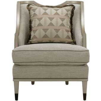 A.R.T. Furniture Intrigue Harper Rose Matching Chair in Brass