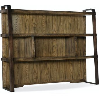 Hooker Furniture American Life Crafted Computer Credenza Hutch