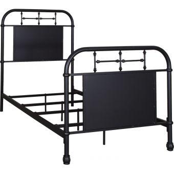Liberty Furniture Vintage Series Youth Twin Metal Bed - Black