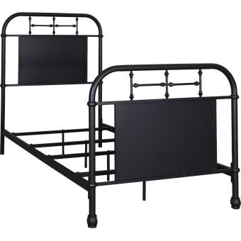 Liberty Furniture Vintage Series Youth Full Metal Bed - Black