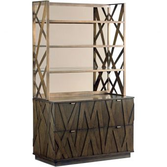 Sligh Cross Effect Prism File Chest with Metal Deck