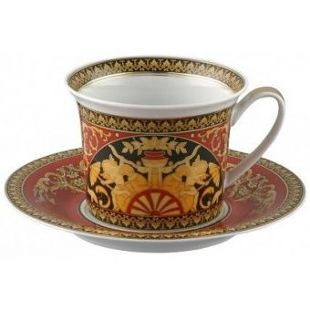 Versace Medusa Red Classic Breakfast Cup, 13 ounce