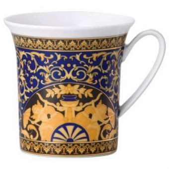 Versace Medusa Blue Mug, 11 ounce