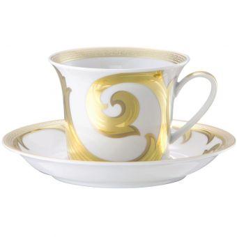 Versace Arabesque Gold Cappuccino Cup, 8 1/3 ounce