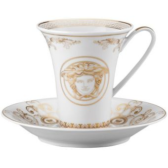 Versace Medusa Gala Coffee Cup, 6 ounce