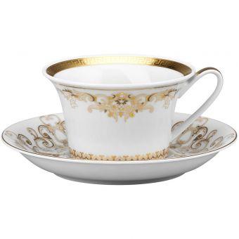Versace Medusa Gala Gold Tea Cup, 7 ounce