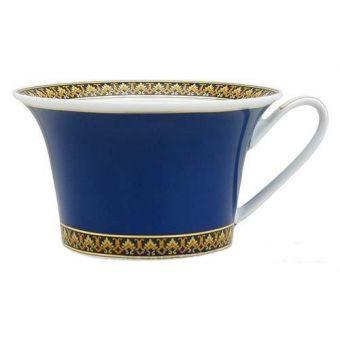 Versace Medusa Blue Low Cup, 7 ounce
