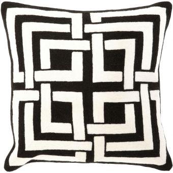 Eichholtz Pillow Blakes in Black & White