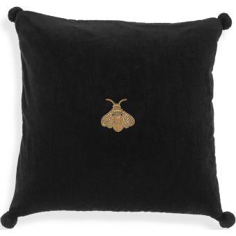 Eichholtz Pillow Lacombe in Black Velvet