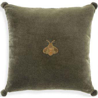 Eichholtz Pillow Lacombe in Green Velvet