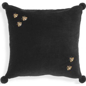 Eichholtz Pillow Salgado in Black Velvet