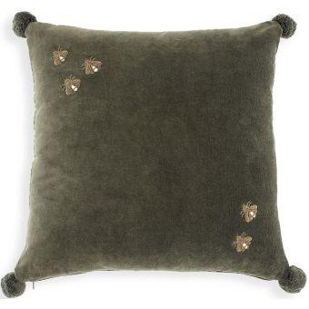 Eichholtz Pillow Salgado in Green Velvet