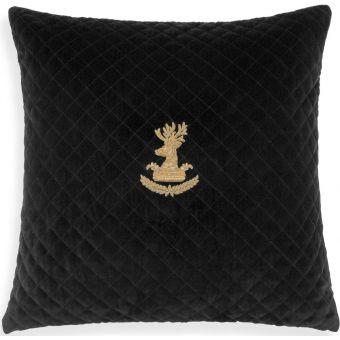 Eichholtz Pillow Aletti in Black Velvet - Large