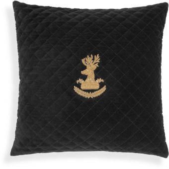 Eichholtz Pillow Aletti in Black Velvet - Small