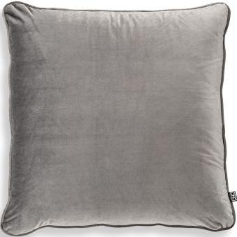 Eichholtz Pillow Roche Porpoise in Grey Velvet
