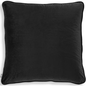 Eichholtz Pillow Roche in Black Velvet