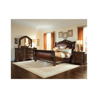 A.R.T Furniture Valencia Upholstered Sleigh Bedroom Set - King