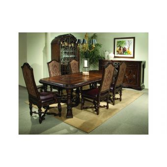 A.R.T. Furniture Valencia Trestle Dining Table Set