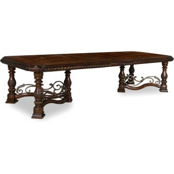 A.R.T. Furniture Valencia Trestle Dining Table