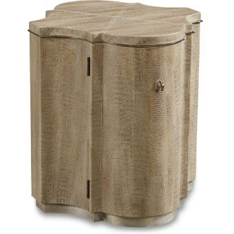 A.R.T. Furniture Morrissey Mair Drum Table in Bezel (CL1A) - CLEARANCE SALE