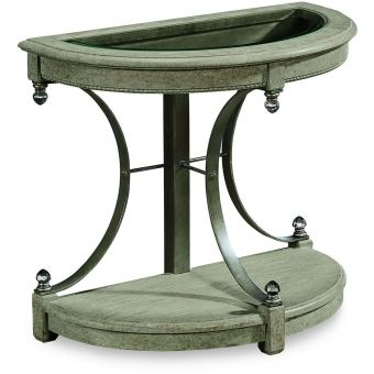 A.R.T. Furniture Arch Salvage Drew End Table in Mist (CL1A) - CLEARANCE SALE