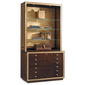 Sligh Bel Aire Beverly Palms File Chest with Deck