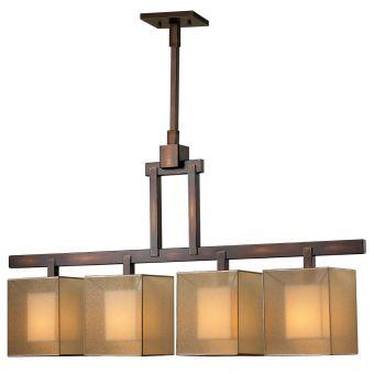 Fine Art Lamps Quadralli Chandelier - 330540ST