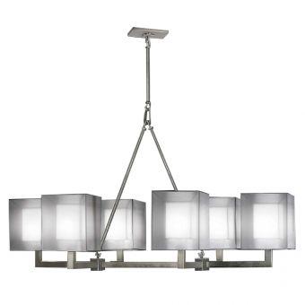 Fine Art Lamps Quadralli Chandelier - 331440-2ST