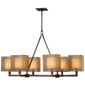 Fine Art Lamps Quadralli Chandelier - 331440ST