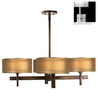 Fine Art Lamps Quadralli Chandelier - 436540-2ST