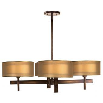 Fine Art Lamps Quadralli Chandelier - 436540ST