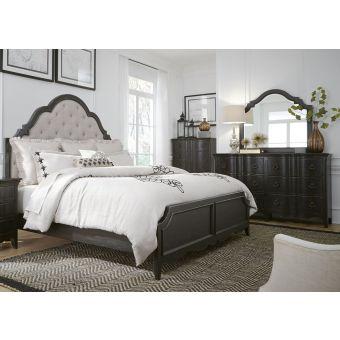 Liberty Furniture Chesapeake King Upholstered Bedroom Set #493-BR-KUB