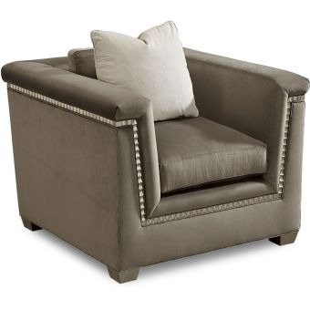 A.R.T. Furniture Morrissey Upholstered Mani Chair in Bezel (CL1A) - CLEARANCE SALE