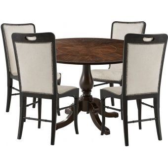 Theodore Alexander Marst Hill Jacoby 5pc Dining Table Set