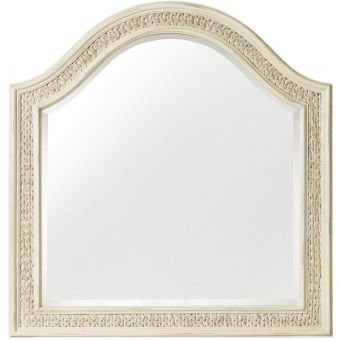 Hooker Furniture Sandcastle Mirror with Sea Grass