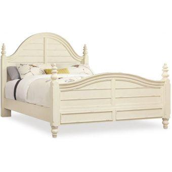 Hooker Furniture Sandcastle Wood Panel Bed, King