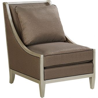A.R.T. Furniture Morgan Rose Accent Chair in Brass - CLEARANCE SALE