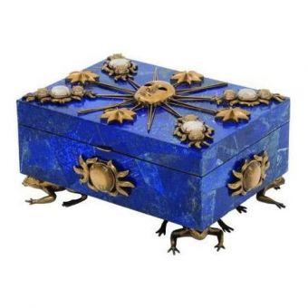 Maitland-Smith Roi Soleil Jeweled Box