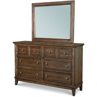 Legacy Classic Forest Hills Dresser with Landscape Mirror