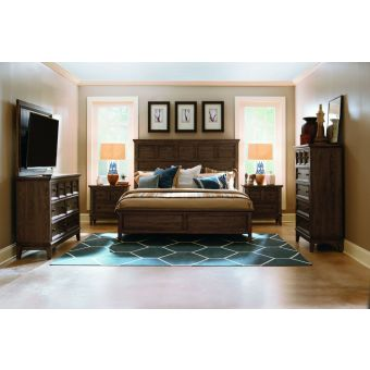 Legacy Classic Forest Hills Panel Bedroom Set, King