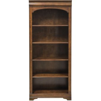 Liberty Furniture Chateau Valley Bunching Bookcase in Brown Cherry